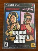 Ps2 Grand Theft Auto Vice City Stories And Liberty Double Pack New Sealed Gta Wata