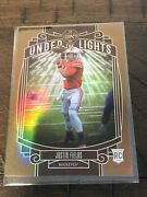 2021 Panini Legacy Justin Fields Under The Lights Copper Rc /100 Bears
