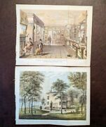Dealer´s Lot Of 19 Mid-19th Century New York City Views From Valentine´s Manual