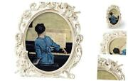 Vintage Picture Frames With Embossed Angeloval Antique Photo Frame 8x10 White