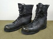 Bates Menand039s Boots 21500 Combat Army Gore-tex Insulated Black Boot Sz 13 R