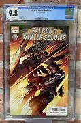 Marvel Comics Falcon And Winter Soldier 1 Cgc 9.8 1st Print 1st App Team Up Title