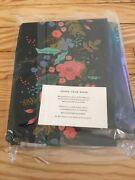 Rifle Paper Co Fabric Floral Vines 2.5 Yards- New In Package Navy
