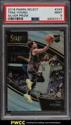 2018 Select Courtside Silver Prizms Trae Young Rookie Rc 249 Psa 9 Mint