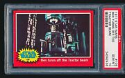 1977 Star Wars And039ben Turns Off The Tractor Beamand039 109 Psa 10 - Tough Low Pop 1/5