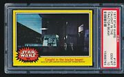 1977 Star Wars And039caught In The Tractor Beamand039 163 Psa 10 - Tough Low Pop 1/8
