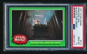 1977 Star Wars And039princess Leia Blasts The Enemyand039 210 Psa 10 - Tough Low Pop 1/6