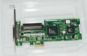 Adaptec 29320lpe Pci-e 1x U320 Scsi Card Full Height Bracket Pulled From Server