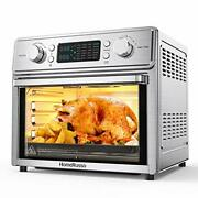 Homerusso 24-in-1 Air Fryer Oven 26.3 Quart Large Convection Toaster Oven Cou...