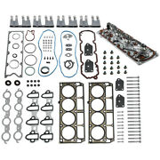 Engine Gaskets Kit + Lifters + Trays + Bolts For Chevy For Gm For Buick 5.3l