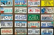 Large Lot Of 100 Old Colorful License Plates - Bulk - Many States - Low Shipping