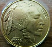 2006 United States Mint American Buffalo One Ounce Gold Bu Coin In Mint Plastic