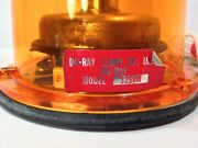 Vintage Do-ray 3250m Federal Signal Style Rotating Beacon Light Works Look Read