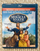 The Miracle Maker The Story Of Jesus Christ Blu Ray/dvd Combo Pack God Rare
