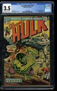 Incredible Hulk 1968 180 Cgc Vg- 3.5 Off White To White 1st Cameo Wolverine