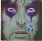Alice Cooper Jsa Signed Autograph Album Record Lp From The Inside