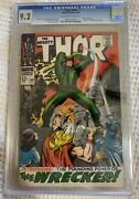 1968 Marvel Thor 148 Cgc 9.2 First Appearance Of Wrecker And Origin Of Blackbol