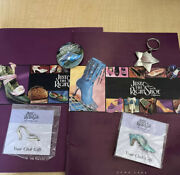 Just The Right Shoe Catalog, Signed Pin 2 Club Pins, Keychain Collectors Items