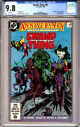 Swamp Thing 50 Cgc 9.8 White Pages Justice League Dark Alan Moore 1986