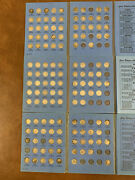 Us Silver Coins Roosevelt Dimes 90 Lot Of 129 In 3 Whitman Books