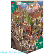 Heye Carnival Street Parade 2000 Pieces Adult Stress Relief Puzzles Toy Gift New