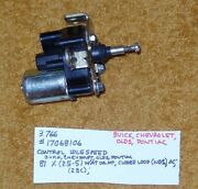 1981 Buick/chev/olds/pont Idle Speed Control Nos 17068106