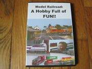 Model Railroad A Hobby Full Of Fun Dvd James Leclaire Toy Trains Station Tracks