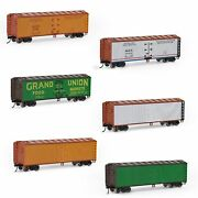 1pc/3pcs Ho Scale 187 40and039 Wood Side Reefer 40ft Boxcar Model Railway Wagons