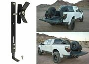 In Bed Spare Tire Mount Bracket Mounts Tire Vertically New Free Shipping Usa