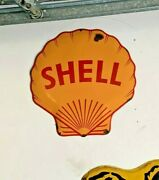Porcelain Shell Sign Concave 1 Sided