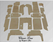 Graybeig Velours Carpet Kit For Jaguar Xj6 And Xj12 Serie 2 And 3 Four Door Saloon