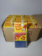 Vintage Party Punch Board Games Birthday Sealed Store Display Set Lot Of 46 Rare