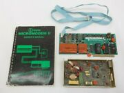 Vintage Hayes Micromodem Ii For Apple W/ Microcoupler And Owners Manual  Ms