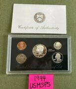 1994 United States Mint Silver Proof Coin Set