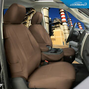 Rhinohide Pvc Heavy Duty Synthetic Leather Seat Covers For Ford E-350 Club Wagon