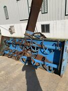Helm Lucknow 8 1/2and039 Snow Blower Tractor 3 Pt. Hydraulic Spout And Flap
