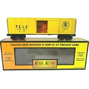 30-74314 Mth Pittsburgh And Lake Erie Rounded Roof Box Car W/generator 529406