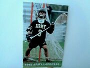1998 Army Lacrosse Schedule