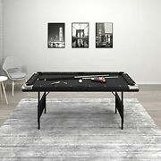 Gld Products Fat Cat Trueshot 6 Ft. Pool Table | Folding Legs For Storage | 64-6