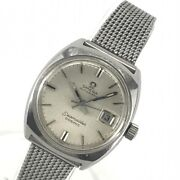 Omega Seamaster Cosmic Ladies Watch Automatic White Dial Index Date Auto Ant