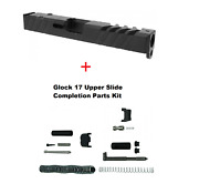 Gen 3 Glock 17 Slide 9mm Rmr Ready + Cover Plate With Upper Parts Completion Kit