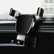 Universal Gravity Cell Phone Holder Car Air Vent Mount Stand Cradle Accessories