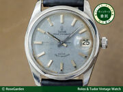 Tudor Oyster Date Ref.7990/4 Vintage Small Rose Ss Automatic Mens Watch