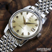 Omega Seamaster Ref.14762sc-62 Vintage Cal.562 Automatic Mens Watch Auth Works