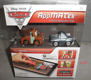 Cars 2 Disney Pixar Appmates Lot Lightning Mcqueen And Mater And Finn Mcmissile Toy