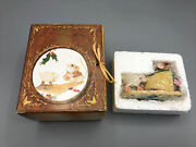 """Vintage 1998 Enesco Mouse Tales """"i'll Play My Drum For Him"""" Nib"""