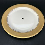 Pickard Centennial Tier Serving Replacement Plate For Tray Gold Encrusted China