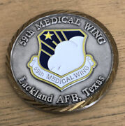Lackland Afb 59 Medical Wing Challenge Coin Wilford Hall Medical Center Texas