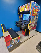 Lucky And Wild Arcade Driving Racing And Shooting Video Game Machine Works