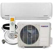 12000 Btu 1 Ton 19.5 Seer Ductless Mini Split Inverter+ Wall Mounted Air With